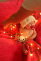Kendal, Baby's First Christmas Portraits